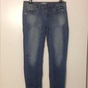 JOU JOUStraight Cut Stretch Jeans